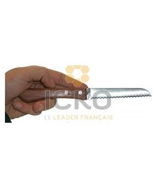 Couteau jero a dents l 11 cm