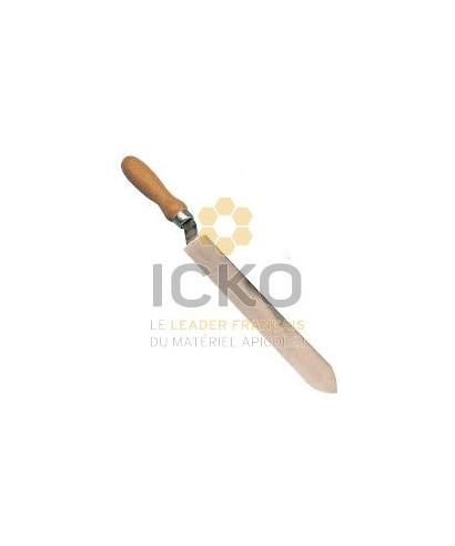 Couteau acier lame droite