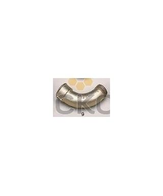 Coude galva 90° gr  40/49  m/ f ( 1' 1/2 )