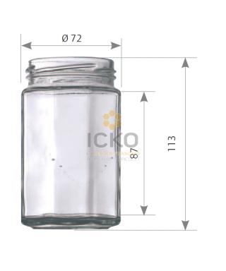 314 ml octogonal to 63 la palette de 2520