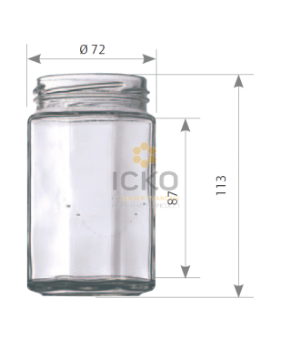 314 ml octogonal to 63 la palette de2430