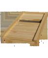 Plateau Dt6 cadres aération arrière en pin