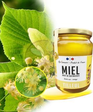 Miel de TILLEUL, de France, 500g