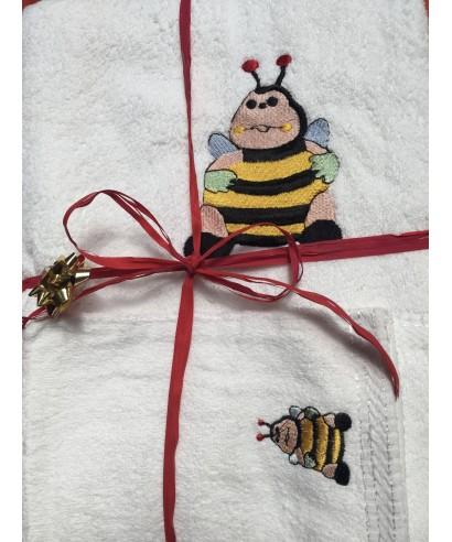 Peluche abeille 35 cm