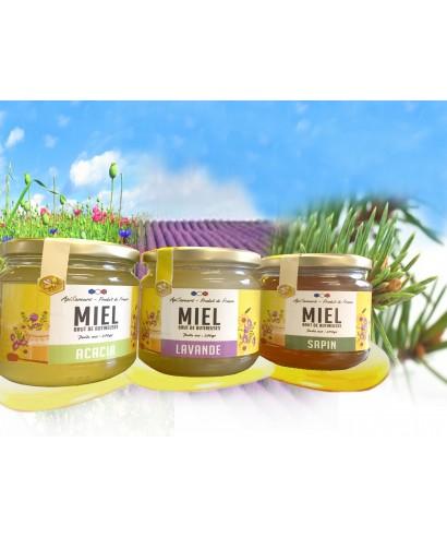 Coffret de miels