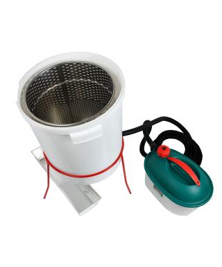 Chaudiere plastique avec generateur vapeur