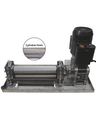 Laminoir à cire gaufrée Lamin-wax 280 x 58 mm électrique