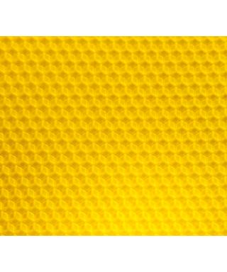 Feuille de cire d'abeille sélectionnée gaufrée, le kg