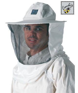 Voile pour apiculture  l'hermetic avec chapeau