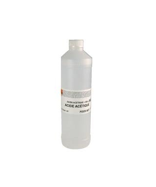 Acide acetique  80% bouteille de 1 kg