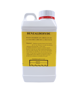Benzaldehyde bidon 1 litre, repulsif abeille