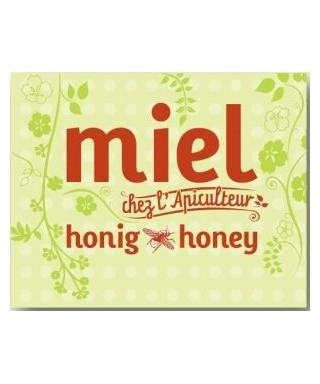 Nouveau panneau miel vert 50 x 40