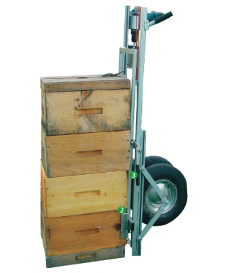 Ensemble apilift pro aluminium