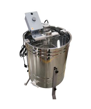Extracteur miel tangentiel Minima électrique 4 cadres de corps Dadant ou 8 cadres de hausse Dadant ou 4 cadres Langstroth