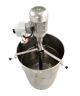 Pompe pour fut canule inox - 2.2kw / 400v