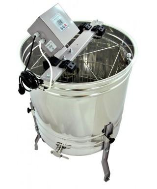 Extracteur optima electrique dadant 4 corps/8 hausse  12v et 220v