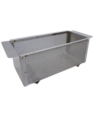 Panier tole perforee inox  320x405x260mm