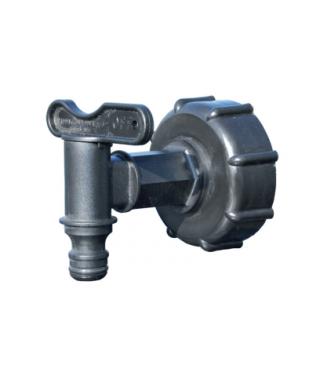 Raccord cuve 1000 l + robinet