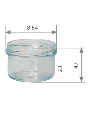 Verrine 120 ml to 70 le pack de 20