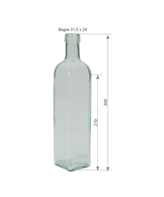 1000 ml marasca std le pack de 10
