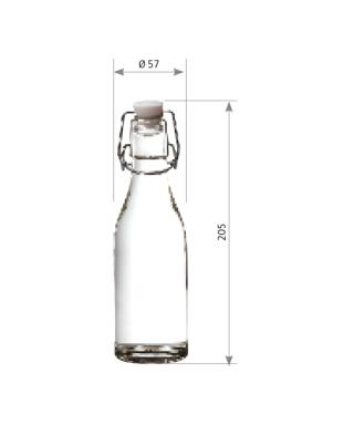 Bouteille limonade 250 ml la palette de 1805