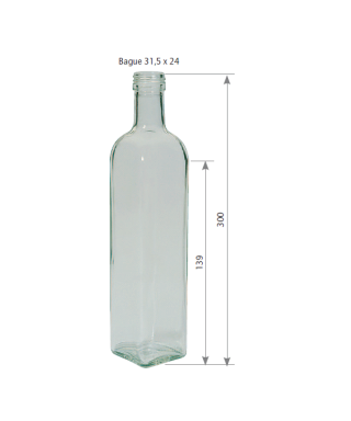 750 ml marasca le pack de 10