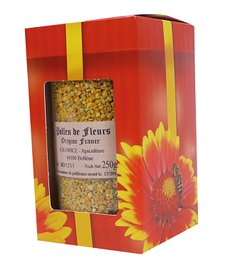 Coffret rouge 1 pot 500 gr