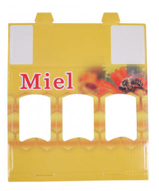 Coffret jaune 3 x40 gr miel simple