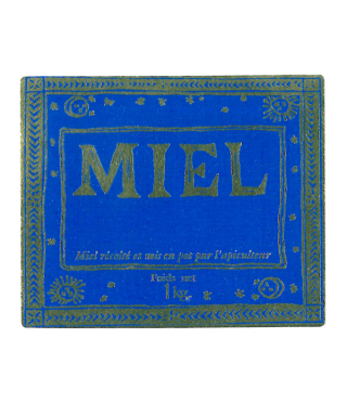 Adhe antique miel 1kg 70x58 neutre le rl de 100