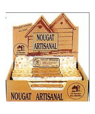 Nougat artisanal 80 g u (25/carton)