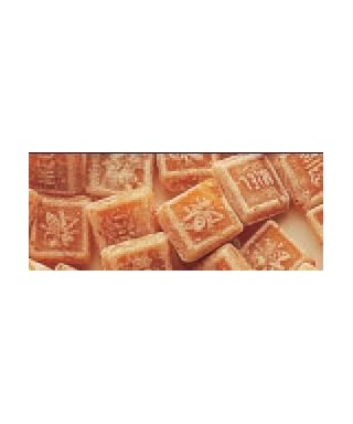 Sachet 250 g carre miel/caramel