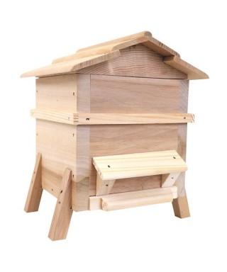 Tirelire ruche miniature en bois