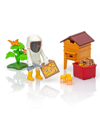 Playmobil - l'apicultrice et sa ruche