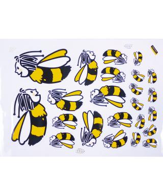 Apifun la plaque de 23 abeilles
