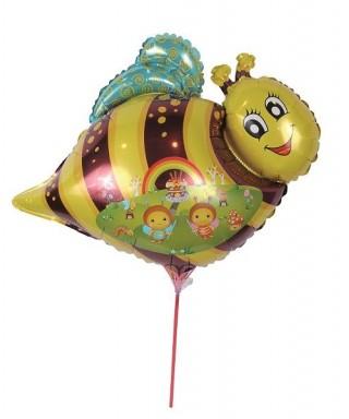Ballon aluminium abeille + baguette