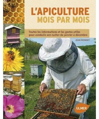 Livre l'apiculture mois par mois