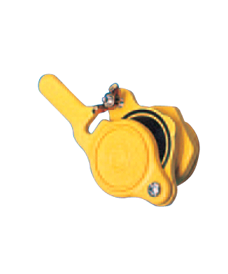 Robinet plast. jaune 40/49