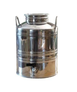 Fût  inox 10 litres pour huile d'olive