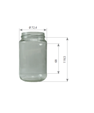 500 gr 375 ml to 63 la palette de 3840