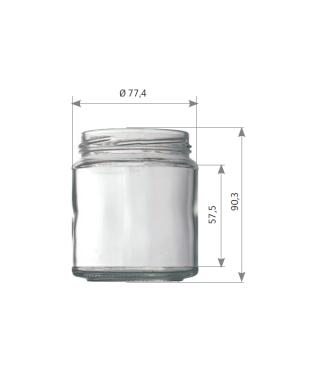 POT en verre 314 ml to 70 le pack de 20