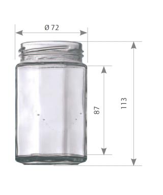 314 ml octogonal to 63 la palette de 2448