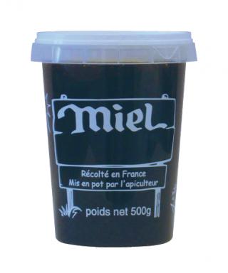Pot PAL nicot 500 g miel le carton de 300