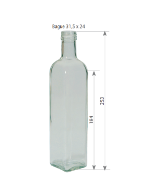 500 ml marasca le pack de 10