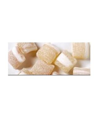 Sachet 250 g paves menthe fourre miel