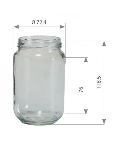 500 g 378 ml to 63 le pack de 12