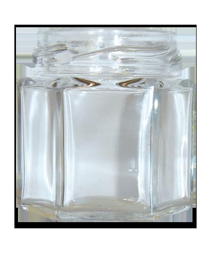 150gr hexagonal 105 ml to 53 PACK DE 12
