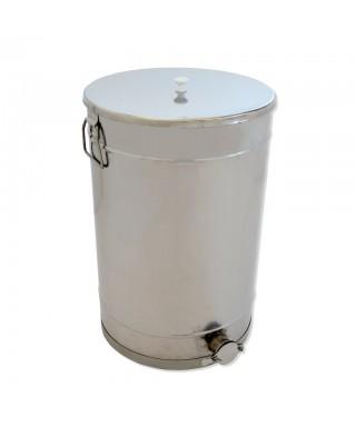 Maturateur à miel, 100 kg, avec couvercle inox
