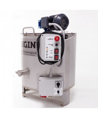 miel creamer et homogénéiser, 150 litres, chauffant Konigin