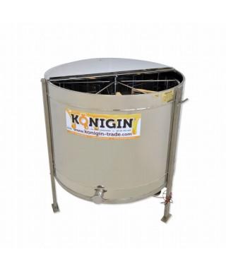Extracteur Konigin 6 cadres de hauteur 24-32 cm, réversible,motorisé