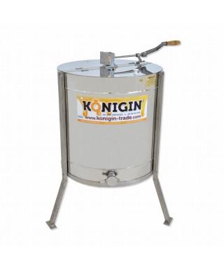 Extracteurs 4 cadres, KONIGIN tangentiel , manuel,  existe pour différents types de cadres,  hauteur max. cadre 25 cm
